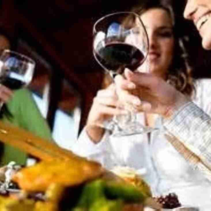 Enjoy a wine tasting evening at Falkirk Rugby
