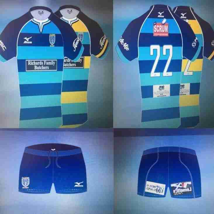 New Home and Away strips