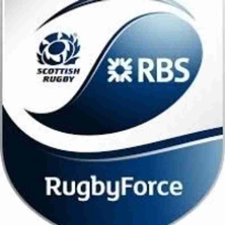 Rugby Force Weekend this Saturday and Sunday