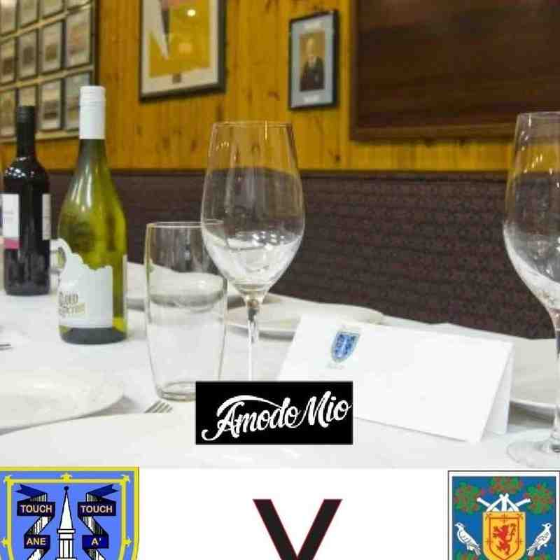 MATCH DAY LUNCH 2016-2017