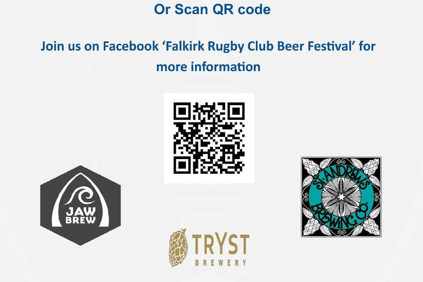Falkirk Rugby Annual Beer Festival
