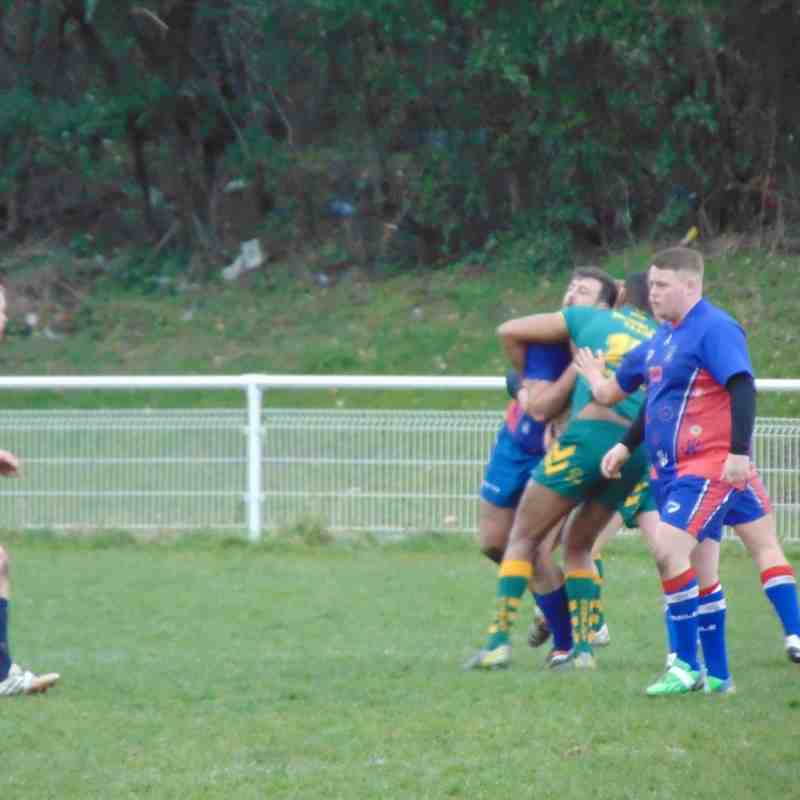 Hunslet Club Parkside v West Leeds