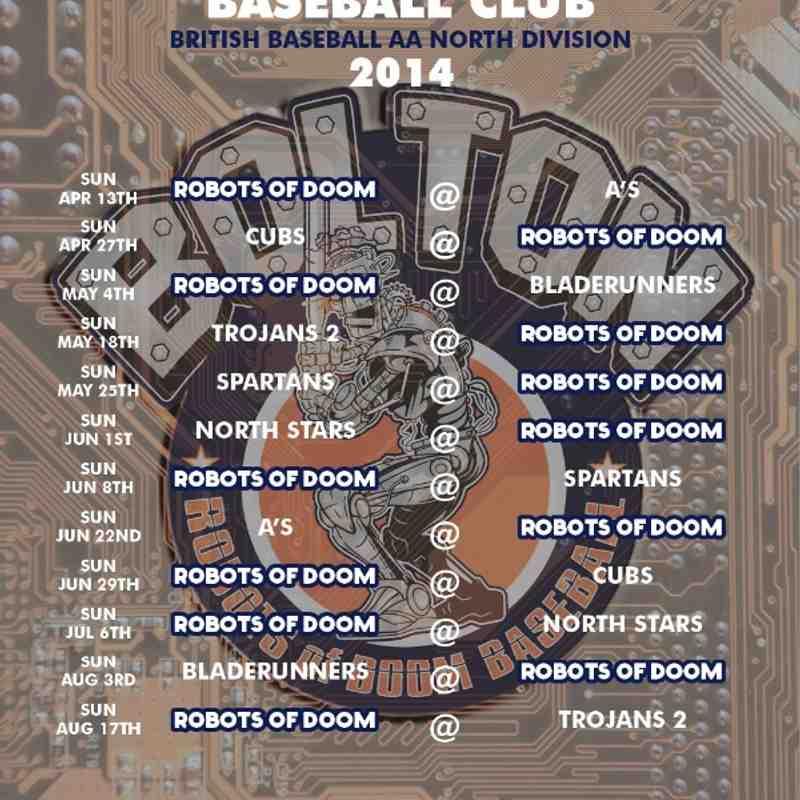 2014 AA Schedule