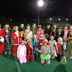 christmas training in full xmas spirit