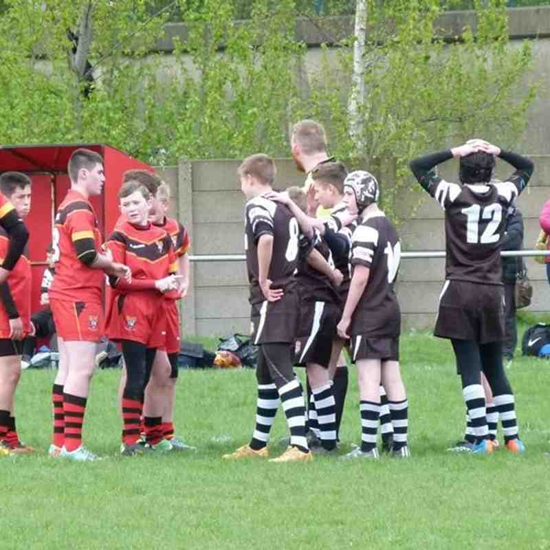 West Bank bears v Saddleworth 19/04/15
