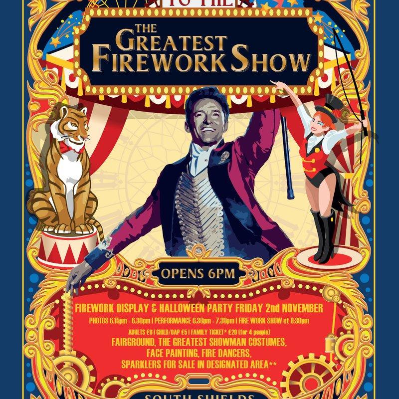 South Shields & Westoe Club Fireworks Show