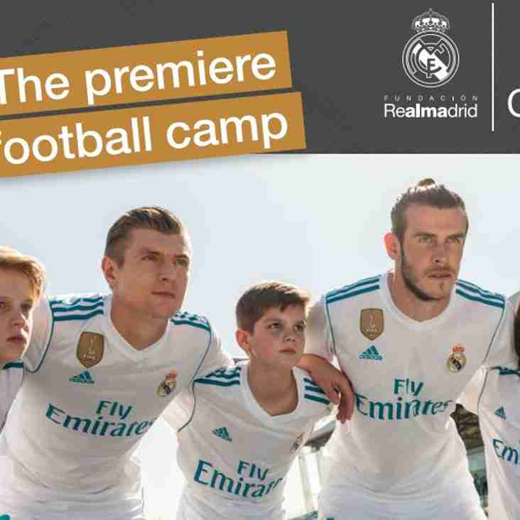 Real Madrid coaching clinic to be held at Rangers in August