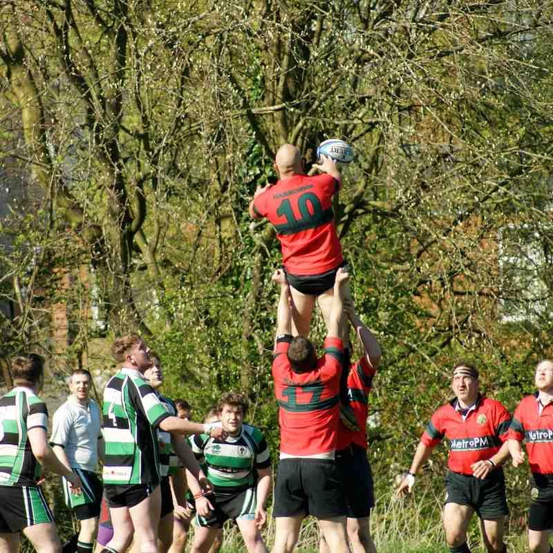 2's vs Woodrush - 18th April 2015
