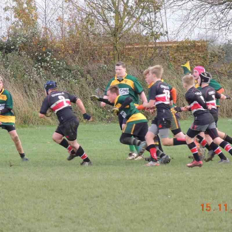 U14's vs Oundle Cup Game 15/11/15