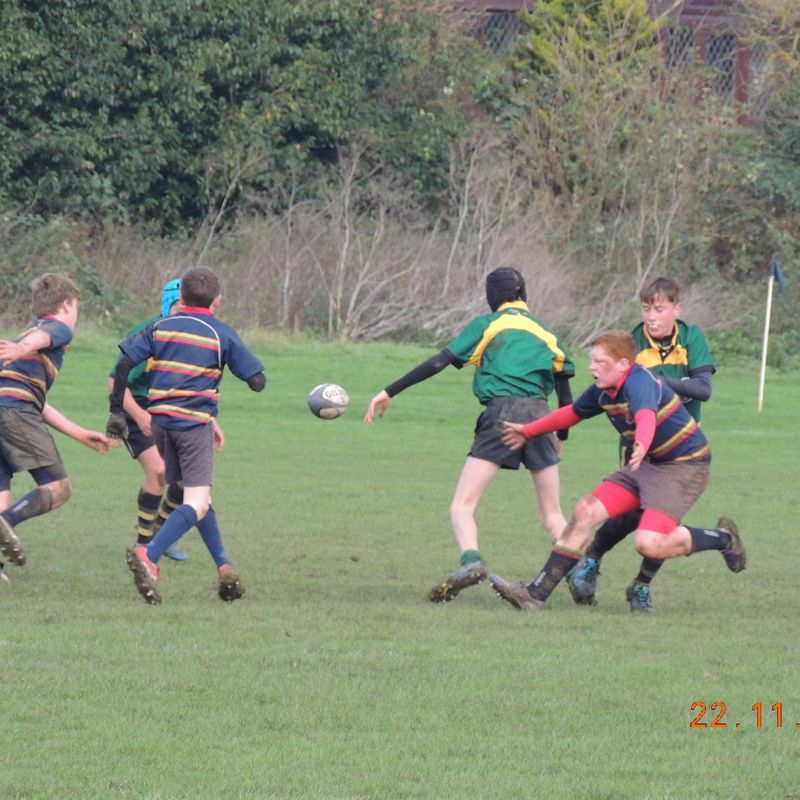 U14's vs Old Scouts Friendly 22/11/15