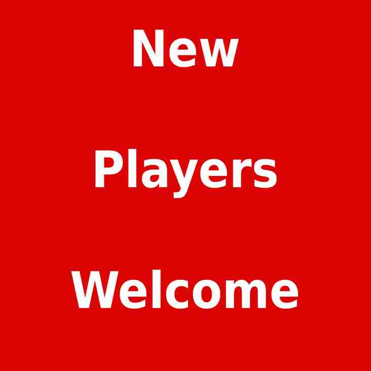 New Players Welcome