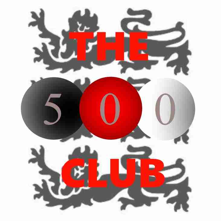APRIL 500 CLUB LOTTERY WINNERS