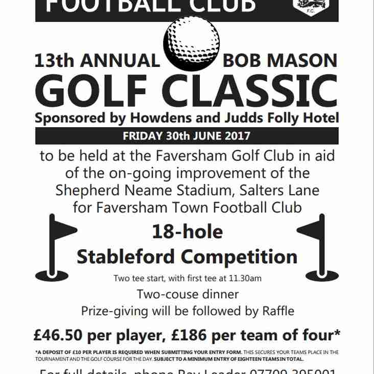 TAKE PART IN OUR ANNUAL GOLF DAY