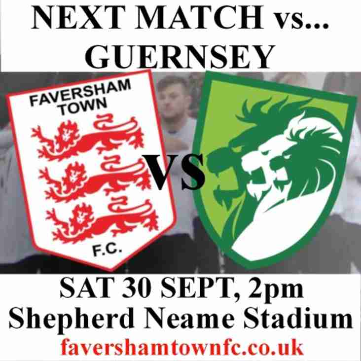 GUERNSEY - EARLY KICK-OFF