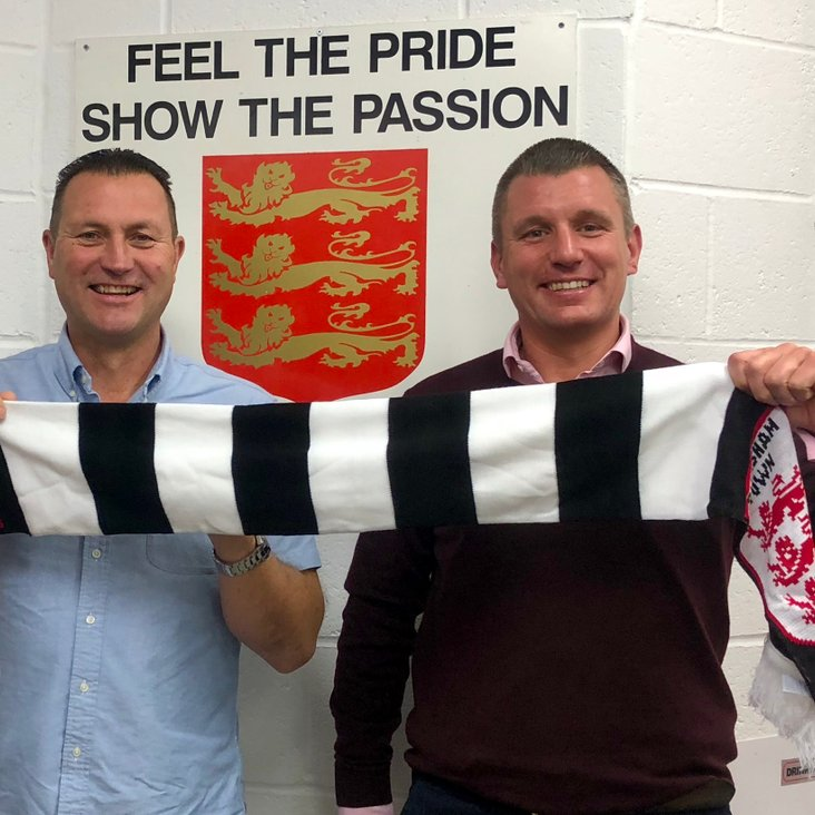 DANNY AND PHIL UNVEILED AS NEW MANAGERS<