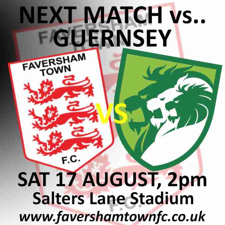 GUERNSEY NOW 2PM KICK-OFF