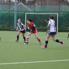 Ladies' 1s v  Hampstead and Westminster 13/1/18