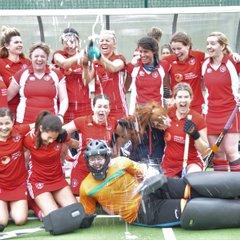 Ladies' 3s win promotion April 7th