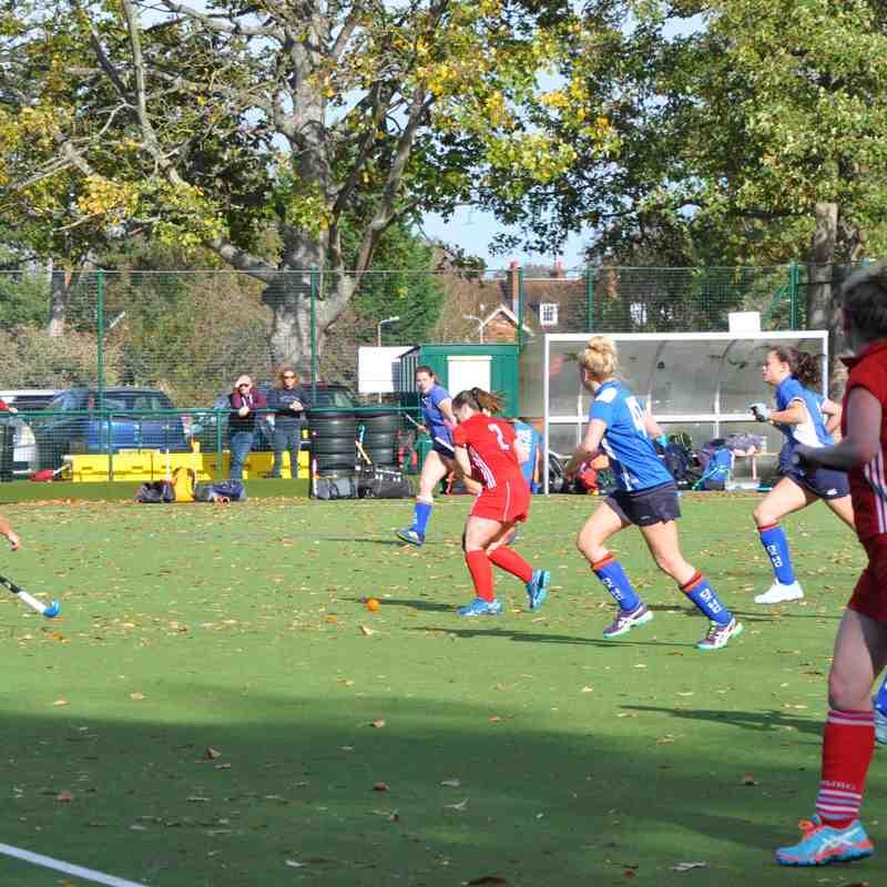 Ladies' 1s v Oxford 1s