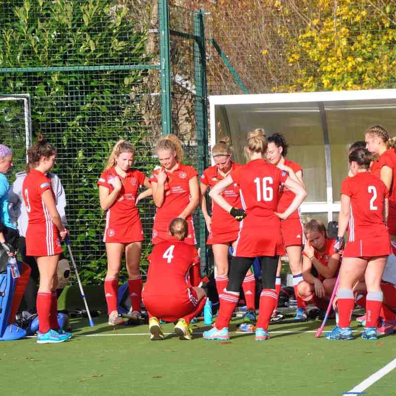 Ladies 1s 5 - Guildford 1s  3    November 10th