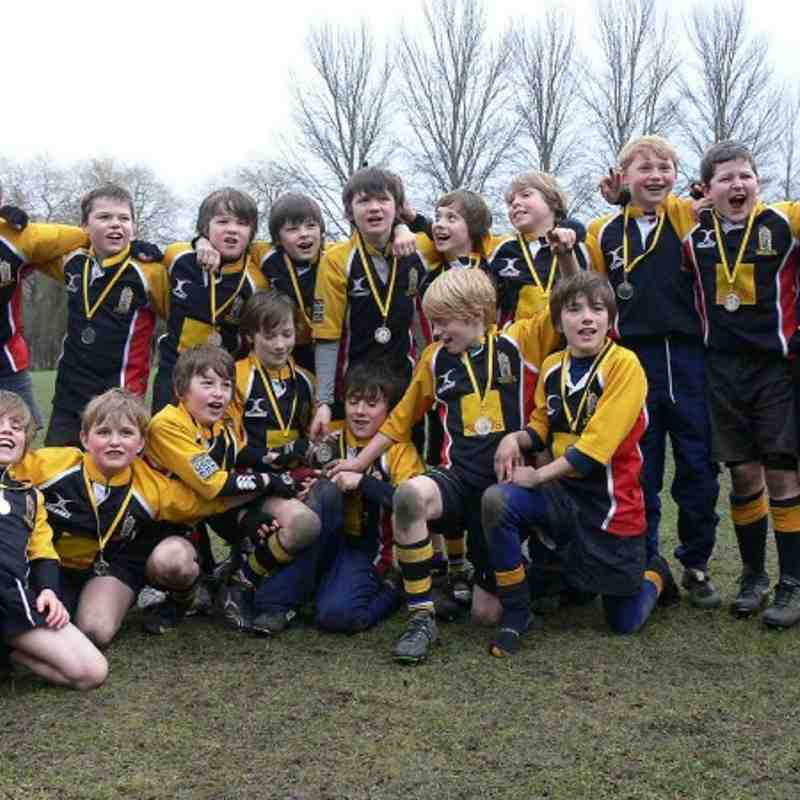 U11 - Cup winners at Winchester Festival
