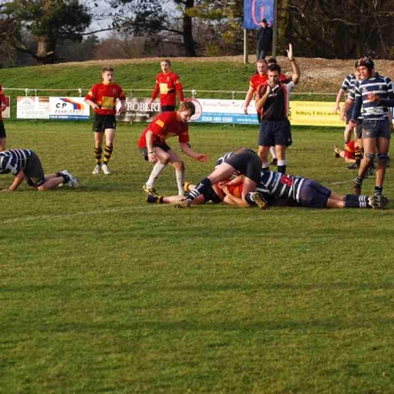 Colts v Westbourne Park, 22 Jan 2012