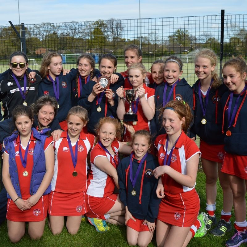 U14 Girls beat Amersham & Chalfont 8 - 0