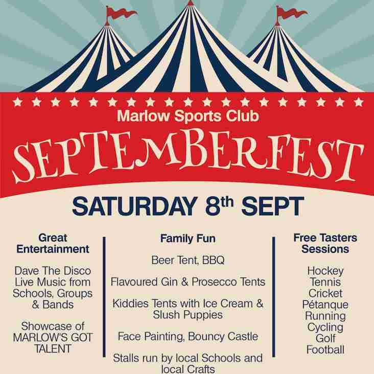 Septemberfest this Saturday
