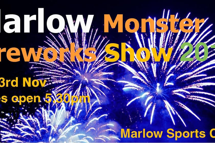 Marlow Monster Fireworks - Saturday November 3rd