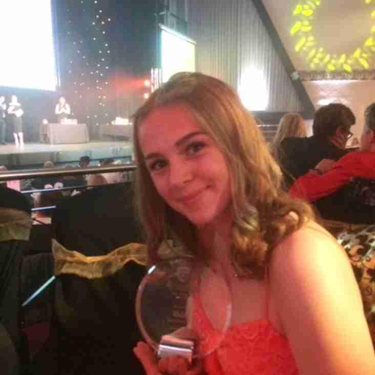 Helen Windsor wins England Hockey Rising Star Award