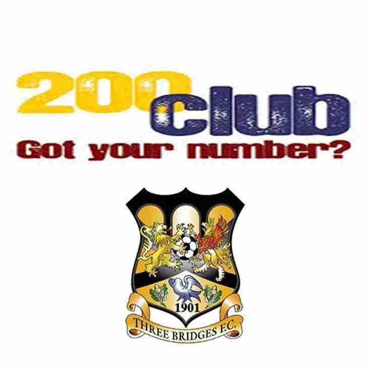 200 Club - May Draw
