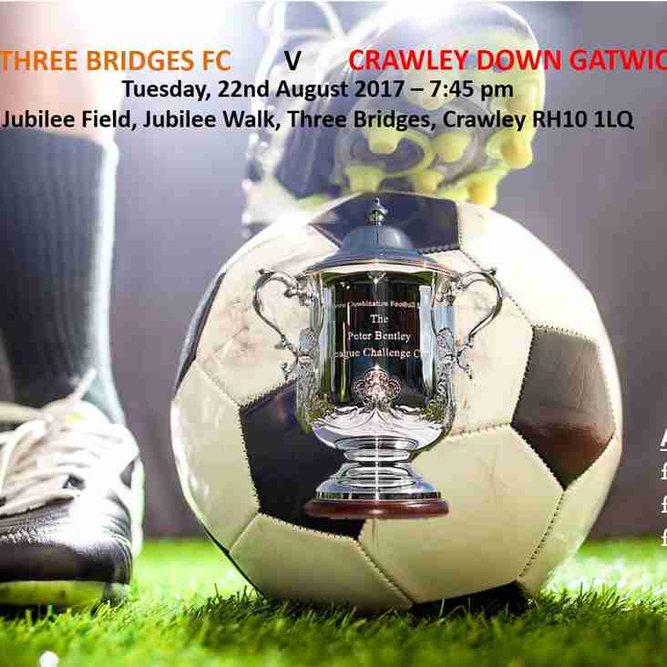 Three Bridges v Crawley Down Gatwick - 22nd August