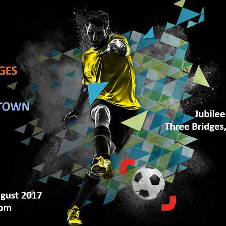 Three Bridges v Eastbourne Town - 26th August 2017