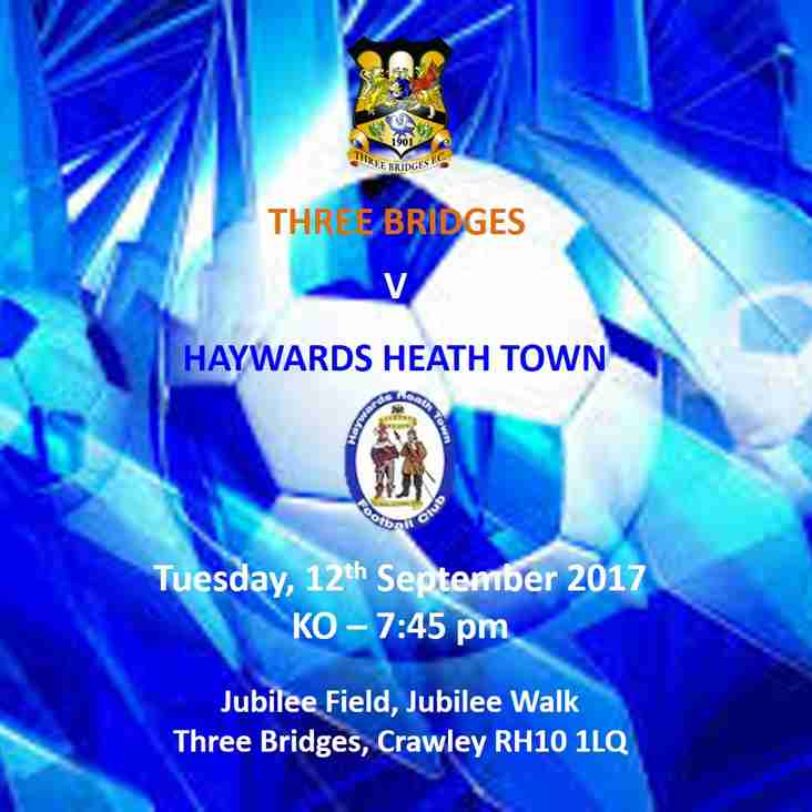 Three Bridges v Haywards Heath Town - 12 September