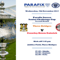 Bridges drawn at home in Parafix Sussex Senior Cup - 2nd Round Draw