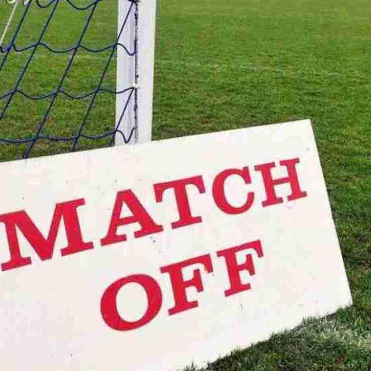 POSTPONED - First Team v Pagham