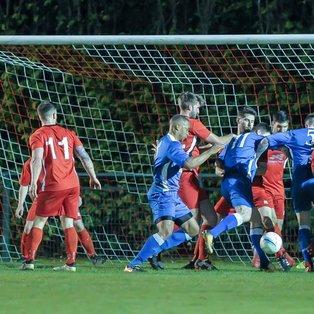 1sts draw away at Crawley Down Gatwick