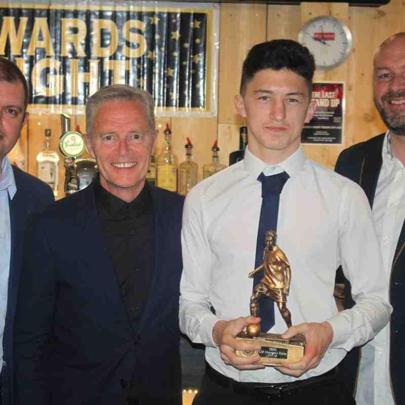 Tom Hughes - U18 Manager's Player