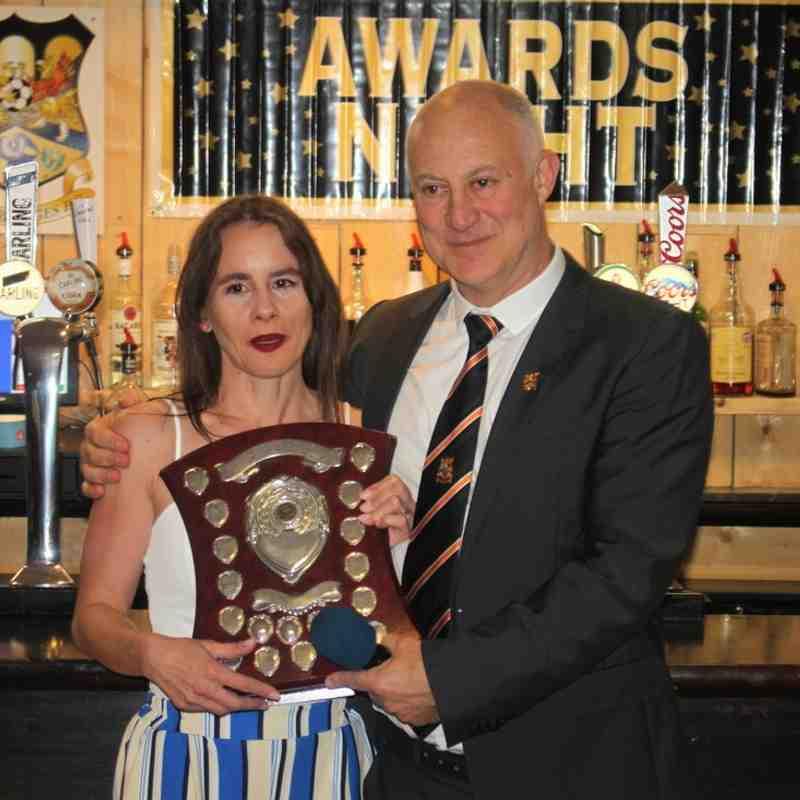 Leigh Brown - Bobby Nash Award