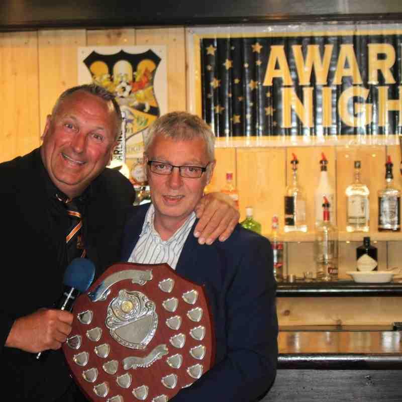 Steve White - Dave Sharpe Award