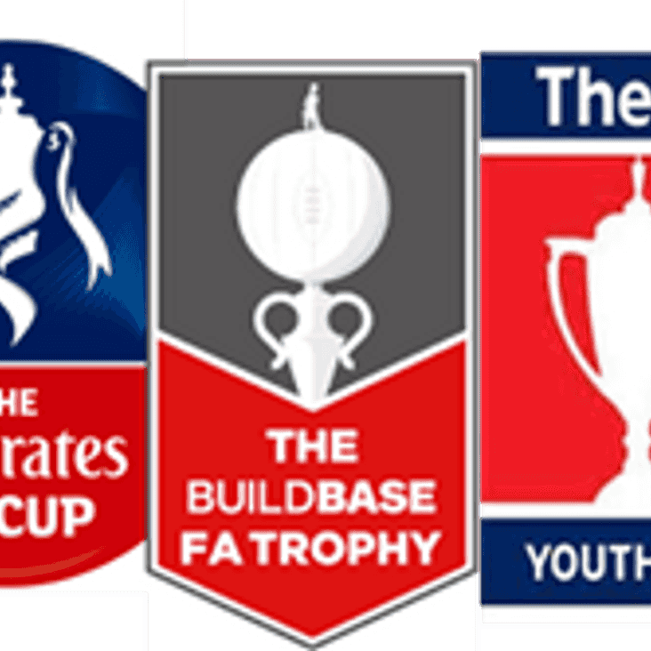 FA Cup, Trophy & Youth Cup Draws