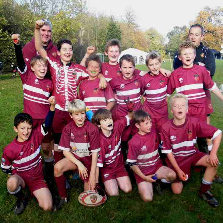 A&C U11s Saxons are Beaconsfield B Team Champions 2015