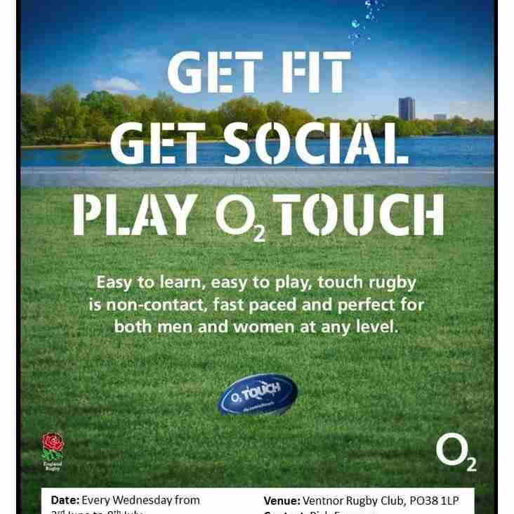 O2 Touch at SCRFC