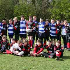 U11s Enjoy a great Easter Tour