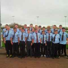 Cleve under 13'swin the  Bristol Junior Combination Cup