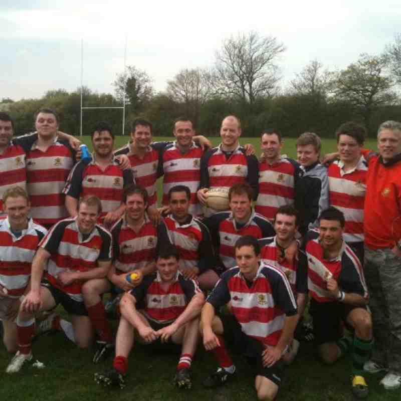 2nd XV Plate Winners