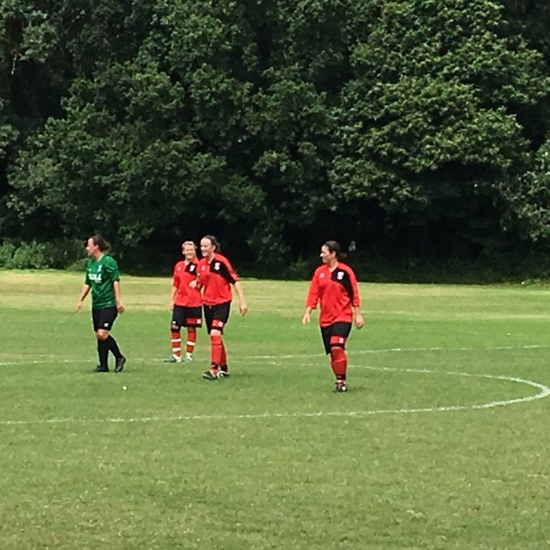 Glebe FC Ladies v Cray Valley Ladies PSF 7 Aug 2016