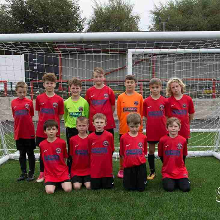 Eastwood CFC U10's Sunday Gold Season Review