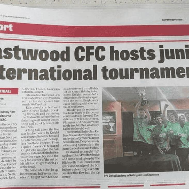 Eastwood CFC Newspaper