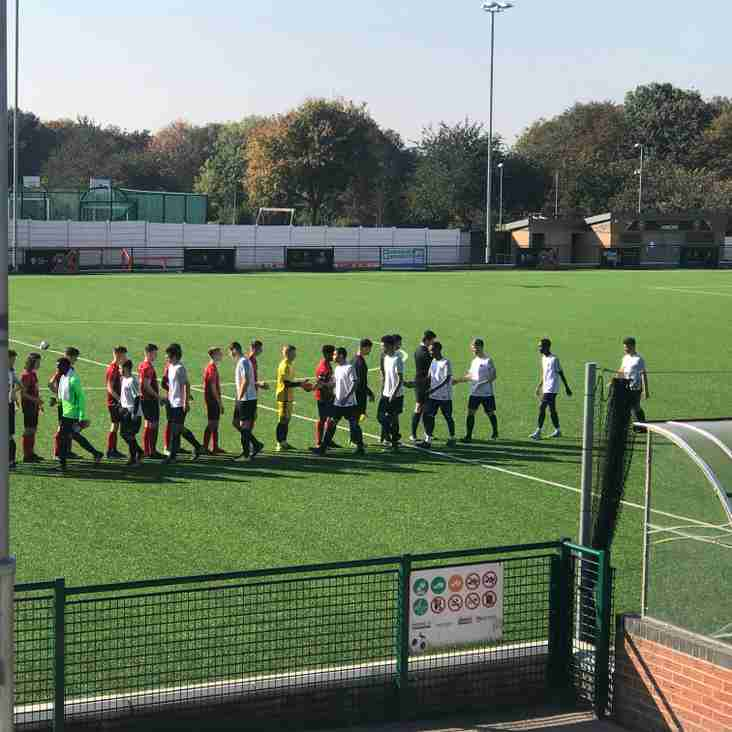 Eastwood CFC U19 12-1 Kettering Town U19